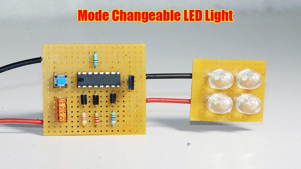 Mode Changeable LED Light Dimmer