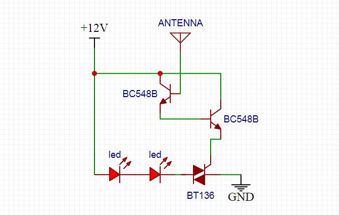 Line Tester Circuit
