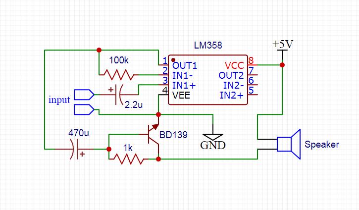 LM358 Amplifier