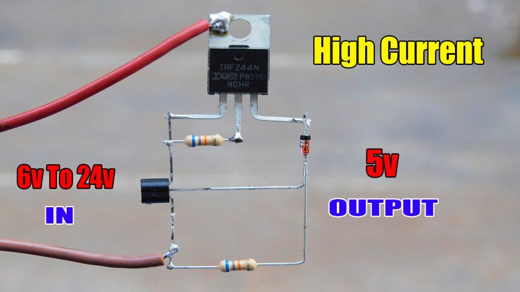 highpower 5v regulator