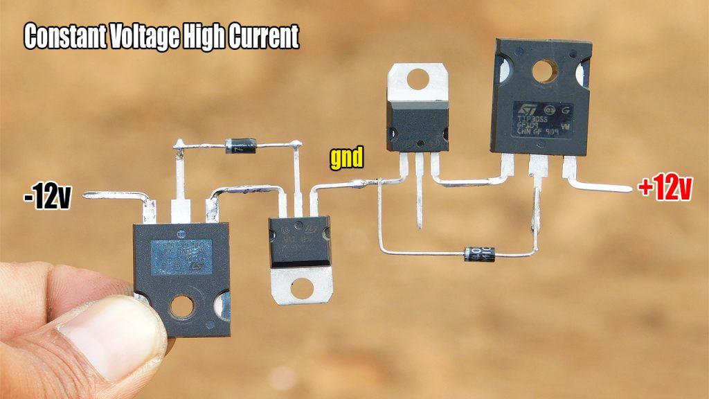 high current voltage regulator